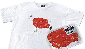 Упаковка футболок
