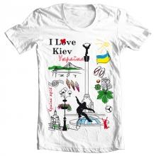 Заказать Футболки Я люблю Україну – Футболки политические